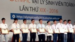 PVU won the high prize at the National Student Olympiads 2016